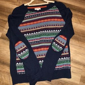 Brooks Brothers Elbow Patch Sweater